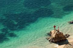 Crystal clear (Xavier Donat) Tags: sea france beach sand d70 tamron stjeancapferrat 70210mm planeteyecom