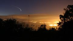 Shooting star (sgrah) Tags: night plane shootingstar