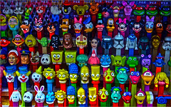 Family Reunion (oybay©) Tags: pez candy color colors commentscommentscomments party abitoforder