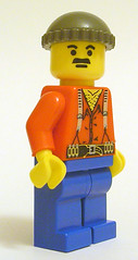 Minifig Characters # 3: Monty Python's Lumberjack by minifig