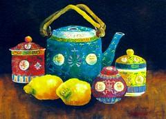 Remembering Singapore... (Graça Vargas) Tags: painting singapore asia teapot chaleira graçavargas ©2005graçavargasallrightsreserved 25503071109
