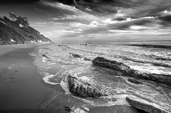 (Toby Keller / Burnblue) Tags: california toby bw beach topf25 topv111 santabarbara landscape keller topv333 d70 dramatic highcontrast top20landscape tobykeller 1118mm accepted1of100bw been1of100bw burnblue