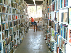 Larry McMurtry´s Book Store Archer City TX