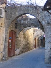 Alleyways in Rhodes (lloydi) Tags: honeymoon rodos rhodes rodi rhodi