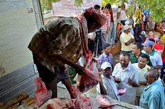 IR Yemen Alhodeidah Qurbani meat distribution