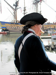 L Hermione:  Marquis de Lafayette (Battleofthehook) Tags: france naked nude french army virginia breasts ship boobs bare navy fanny soldiers yorktown muskets crown tallship americanrevolution frigate loin marquisdelafayette chuckthompson georgewashinton lhermione ttcmedia
