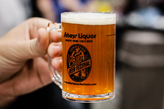 Precious Craft Beer (Daveography.ca) Tags: beer festival holding edmonton hand drink fingers beverage alcohol sample mug myprecious flickrfriday craftbeer edmontoncraftbeerfestival albertabeerfestivals