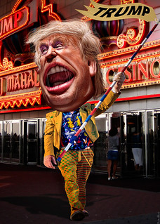 Donald Trump - Drum Major Clown