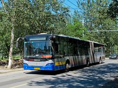 [Buses in Beijing] Youngman Neoplan JNP6180G-1 BPT #B94412 Line BRT3 at Hongfuyuan Residential Area (tonyluan1990) Tags: beijing  publictransport brt bendybus busrapidtransit  articulatedbus   dieselbus  centroliner  jnp6180g1 beijingpublictransportholdingsltd    youngmanneoplan beijingpublictransport