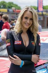 American Speedfest III - Candice Collyer (Sacha Alleyne) Tags: model babe blonde brandshatch gridgirl 2015 spearmintrhino promogirl a6000 americanspeedfest sonya6000