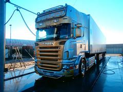 Scania Volpi (samueletrevisanello) Tags: st by italia foto style v8 scania volpi r500 trasporti