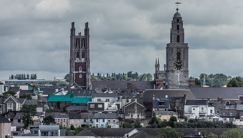 VIEWS OF THE CITY FROM THE WALLS OF ELIZABETH FORT [CORK] REF-106666