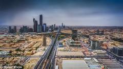 The North Side Of Riyadh City (MNmagic) Tags: city sky sony cybershot alpha  riyadh saudiarabia  ksa  ilce    p30 pp10   pp30  saudiairlines a6000   kafd  e16mm riyadhprovince  mnmagic mnmagicc kingabdulhfinancialdistrict