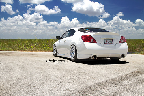 flickriver photoset \u0027bagged nissan altima coupe on velgen wheels