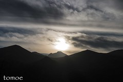 Montaña Palentina (Natalia Lozano) Tags: light españa sun mountain luz sol clouds spain paisaje nubes montaña palencia