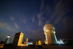 AI1A0179 (arcaswiss) Tags: longexposure blue sky lighthouse station weather night clouds stars nightshot sandiego cloudy astronomy atmospheric
