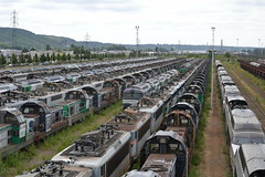 SNCF Withdrawn Locomotives (Will Swain) Tags: travel france les yard train de french europe north transport july rail railway des 330 east rouen le 12th railways franais socit parisian fer franch nationale marshalling 2015 triage chemins sotteville sottevillelsrouen