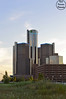 GM Building (VisualDeclarationPhotography) Tags: city sky grass skyline photography nikon gm downtown cityscape michigan detroit rencen generalmotors downtowndetroit nikond3200 gmbuilding