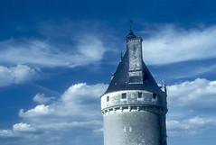 Chateau de Chenonceau Tower Loire Valley France (Don Thoreby) Tags: france detail tower castle clouds facade dramaticsky turret chateaux francais chateaudechenonceau loirerivervalley