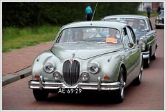 Jaguar mk2 -  3.4Litre / 1964 (Ruud Onos) Tags: mk2 jaguar 1964 34litre oldtimerdaglelystad nationaleoldtimerdaglelystad ruudonos ae6929 jaguarmk234litre photographerruudonos jaguarmk234litre1964 oldtimerdaglelystad2015