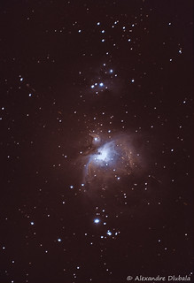 Orion Nebula , 26 Dec. 2016