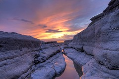 May you never (pauldunn52) Tags: southerndown cliffs rock pool glamorgan heritage coast wales sunset reflection limpets