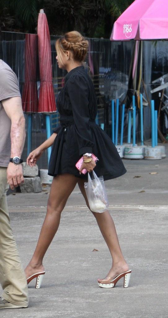 Asian milf heels