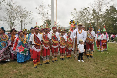 El gobernador Javier Duarte de Ochoa inauguró la XVII edición de Cumbre Tajín 2016.