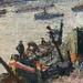PISSARRO Camille,1896 - Port de Rouen, St-Sever (Orsay) - Detail 11
