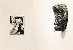 Interkulturelle Ähnlichkeiten (Uwe Kielas) Tags: lith lithprint moerschse5 fomatonemgclassic selentonung ilfordhp5 moerschefd leicam6summicron235film buchheimmuseum bernried expressionisten ausstellung silbergelantine barytprint