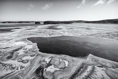 Freezing Cold (@Tuomo) Tags: finland jyväskylä kärkinen päijänne lake ice cold feezing winter nikon df nikkor 1424mm wideangle landscape seascape scandinavia bw monochrome silverefex
