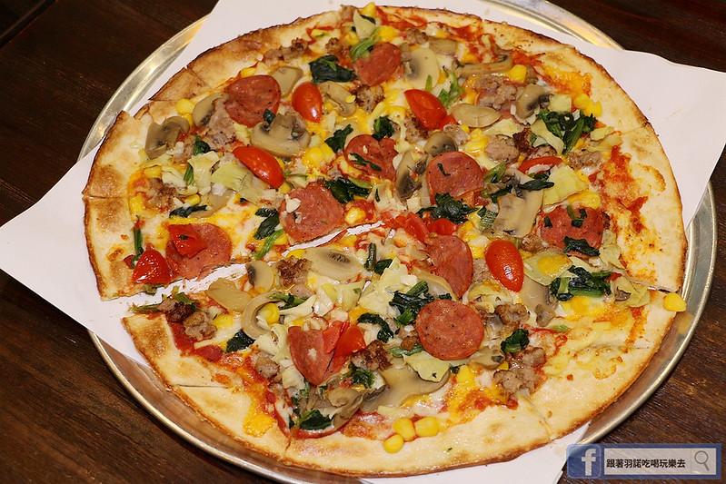 愛翻派美式Pizza店南港134