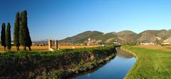 Countryside of Pisa, Tuscany land (Daniele Napolitano) Tags: sangiulianoterme fossodelmulino countryside campagna campanha landscape panorama hugin toscana tuscany