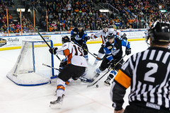 "Missouri Mavericks vs. Wichita Thunder, January 7, 2017, Silverstein Eye Centers Arena, Independence, Missouri.  Photo: John Howe / Howe Creative Photography • <a style=""font-size:0.8em;"" href=""http://www.flickr.com/photos/134016632@N02/31872458750/"" target=""_blank"">View on Flickr</a>"