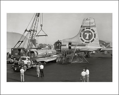 Vehicle Collection (7137) - International (Steve Given) Tags: workingvehicle automobile truck lorry loading aircraft tigerairline 1960s international