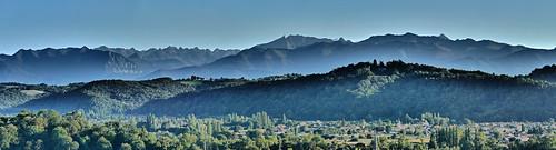 Pyrénées béarnaises depuis Pau