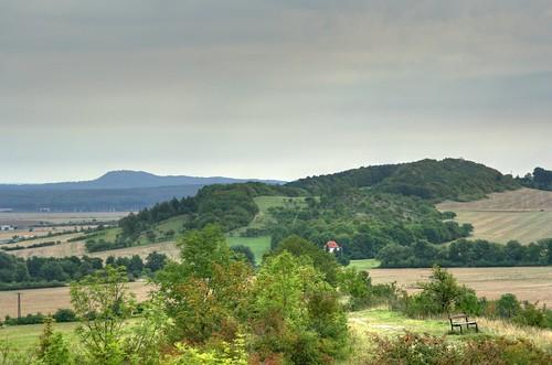Blick vom Augstberg zum Regenstein