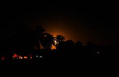 Moon Setting over Cuba (uk_dreamer) Tags: moon moonlight landscape night silhouette trees nature natur luna lunar cuba cuban glow beach dark darkness stars