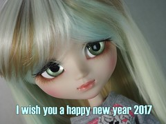 I wish you a happy new year 2017 (sh0pi) Tags: pullip mio make it own groove doll puppe new year 2017 neues jahr kit