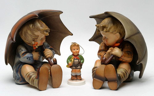 Hummel Porcelain Umbrella Boy & Girl ($286.00)