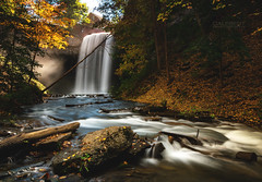 Decew Falls (Cale Best Photography) Tags: decew falls stcatharines ontario canada autumn fall waterfall waterfalls landscape photography nature water hamilton niagara longexposure sony sigma calebest travel leaves leaf seasons river stream windsor ca