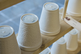 Hand-Crafted Tea Cups Representing Each Man Held at the Guantánamo Bay Detention Center