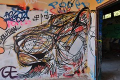 Urbex 2016,Faculté de Geographie et Geologie, Grenoble (thierry llansades) Tags: urbex 2016 graf grenoble geologie geographie université faculté isere rhone alpes rhonealpes university graff graffiti spray aerosol painting bombing peinture fresque fresques