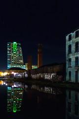 "Reflecting Leeds (Bruce Poole) Tags: brucepoole westyorkshire 2017 cite citta city ciudad january leeds stadt urban urbano ville yorkshire stadtisch town urbain ""builtuparea"" arnley riveraire greenneon skyscrapper grafitti streetart reflet reflection"