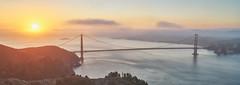 Atomic Sunrise - San Francisco, California (denny.yang) Tags: san francisco california golden gate bridge sunrise fog long exposure sony 2470mm gm gmaster denny yang dennyyang