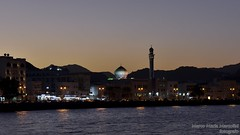 Muscat after sunset, Oman (marcomariamarcolini) Tags: oman muscat mosque moschea lamp light night dark color colorful nikon nikkor lens digital wow marcomariamarcolini arab sunset ceiling resolution detail shadows