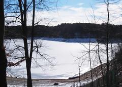 Ottensteiner Stausee (Sam.24) Tags: winter eis kalt see stausee niderösterreich badeort campingplatz fische austria österreich sonne