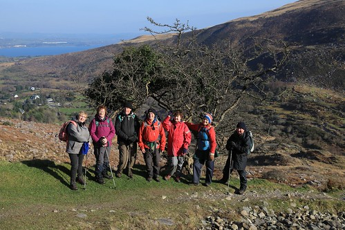 W5G_2907      Climbing Strickeen,  Gap of Dunloe.  10th February 2017.