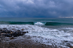 _DSC6905.jpg (maxphotography81) Tags: onda tempesta nuvole inverno riviera ponente liguria italia nikon d800 schiuma bianco blu