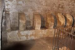 cimitero con sepoltura a putridarium sottostante al Santuario